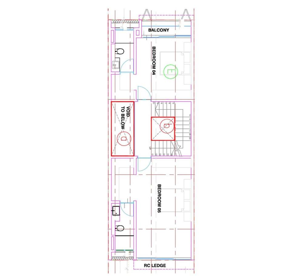 38 Jalan Kembangan Third Floor Plan