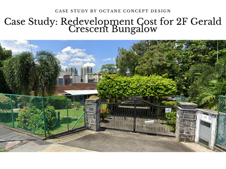 Case Study: Redevelopment Cost for 2F Gerald Crescent Bungalow
