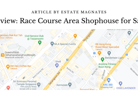 Review: Race Course Area Shophouse for Sale