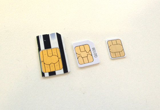 Which SIM card size fits your Apple device?