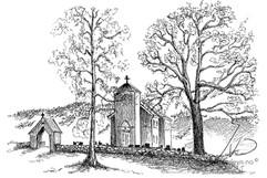 Moland kirke - Fyresdal