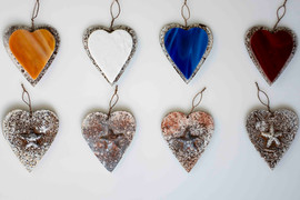 Glass and Metal Ornaments