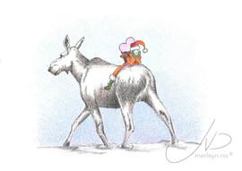 Jol - Elg og nisse