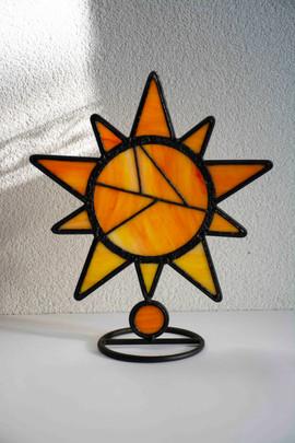 Sunlight on stand