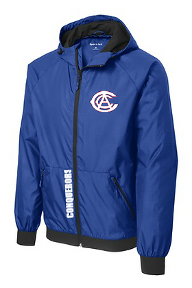 Conqueror Full Zip Windbreaker