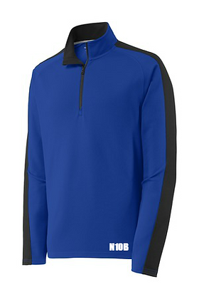Team 1/4 Zip Colorblock Pullover