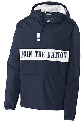 Join The Nation Windbreaker