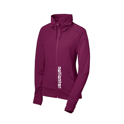 Women Full Zip Stretch Jacket