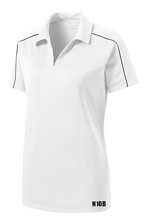 Women Piped Polo