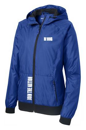 Ladies Embossed Full Zip Jacket