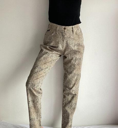 Pantalon écaille