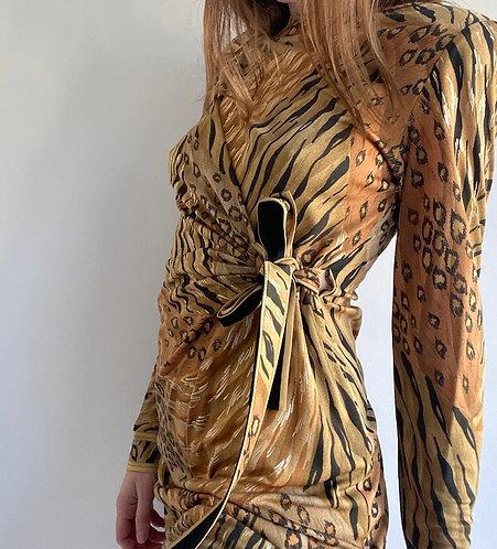 Robe Léonard animal