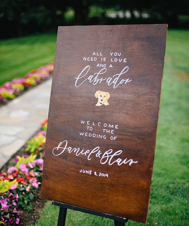 Letters & Dust | Wood wedding signs | portland Oregon