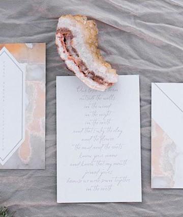 Painted Hills Boho Wedding _ Letters & D