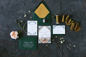 Letters and Dust | Classic Greenery | We
