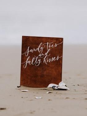 Letters & Dust | Wood wedding signs | portland Oregon