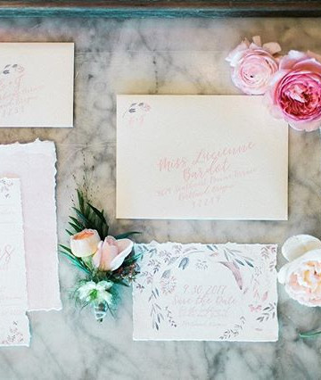 French countryside wedding  _ Letters &