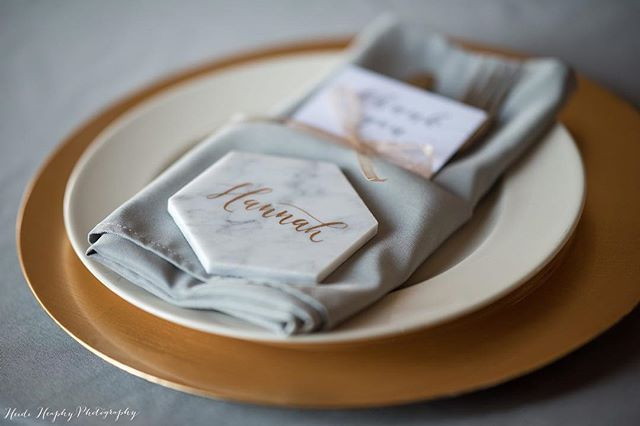 Loving these place settings ❤️❤️❤️photo