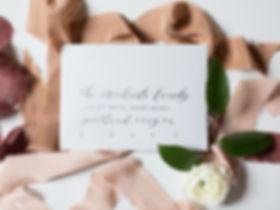 Letters & Dust | Custom Wedding Invitations