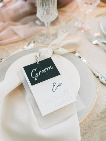 Letters and Dust | Custom Wedding Invita
