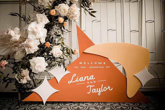Retro Wedding Signs | Letters and Dust | Portland, Oregon