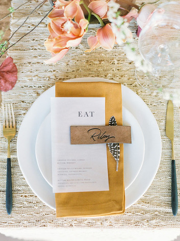 Letters & Dust | Custom invitations | Th