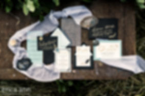 Letters & Dust | Custm Wedding Invtations