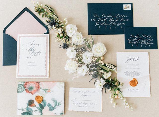 Modern Simple Floral wedding invitation