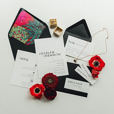 Letters & Dust | Custom Wedding Invitati