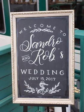 Letters & Dust | Chalkboard Art | Custom Wedding Signs | Portland Oregon