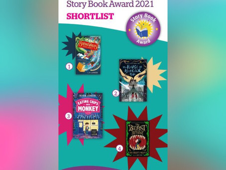 The Strangeworlds Travel Agency is shortlisted for the West Sussex SLS Story Book Award 2021