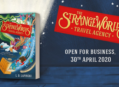 The Strangeworlds Travel Agency to be published in Russia and Slovakia