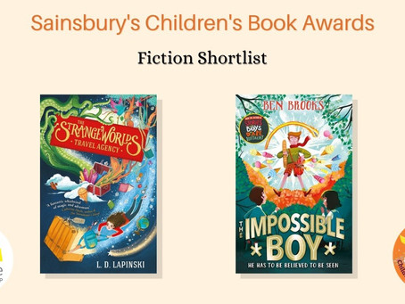 The Strangeworlds Travel Agency shortlisted for The Sainsbury's Children's Book Award!