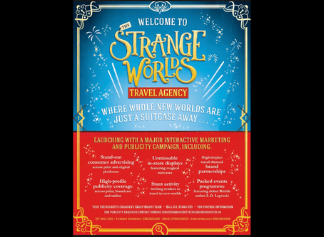 The Strangeworlds Travel Agency in the Bookseller Daily at Frankfurt Book Fair 2019