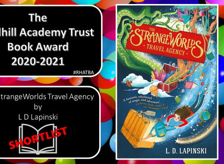 The Strangeworlds Travel Agency shortlisted for the Redhill Academy Trust Book Award