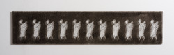 Untitled - 2012 - etching on perspex - 109X24cm