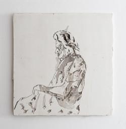 Untitled - 2011 - etching on kappa - 35X35 cm
