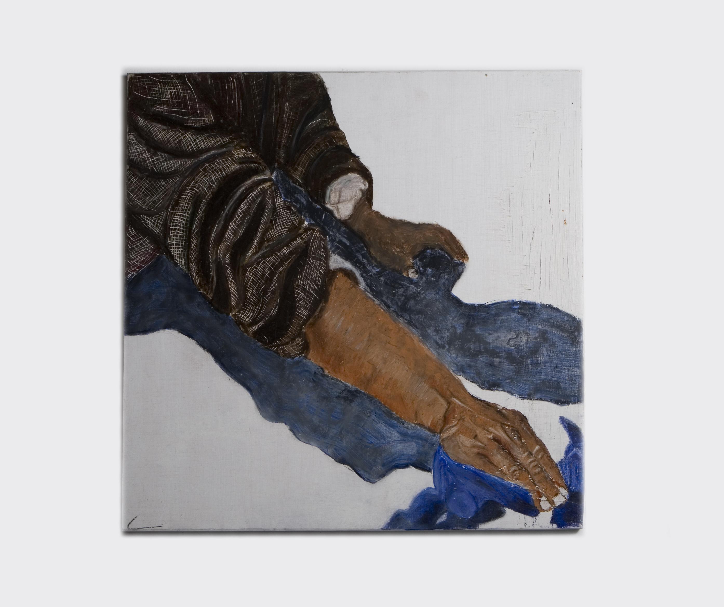 Untitled - 2009 - acrylic on wood - 38X38cm