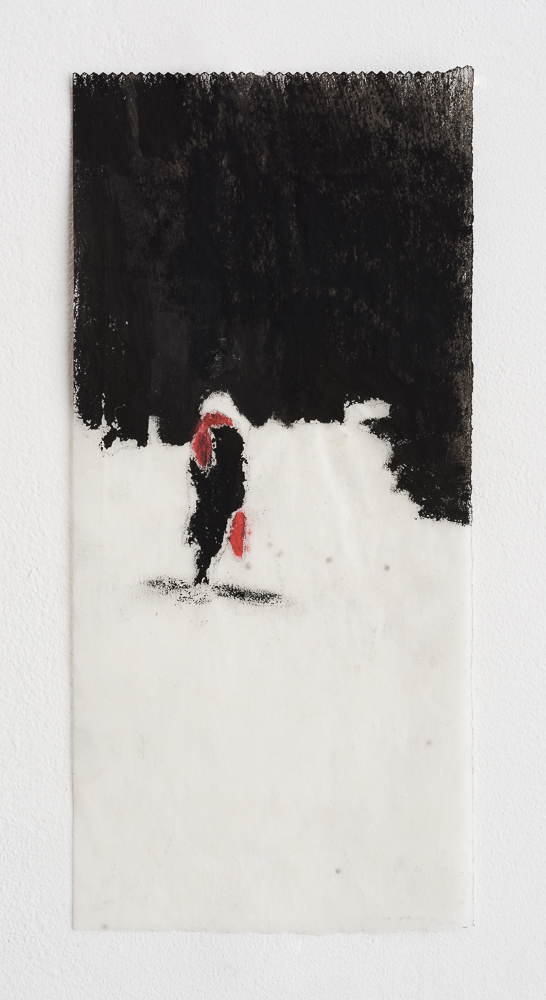 Untitled - 2013 - acrylic on paper - 9X21cm