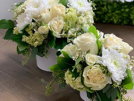 What size floral arrangement should I send?