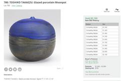 Takaezu Moon Pot-2- Rago 10'2'10