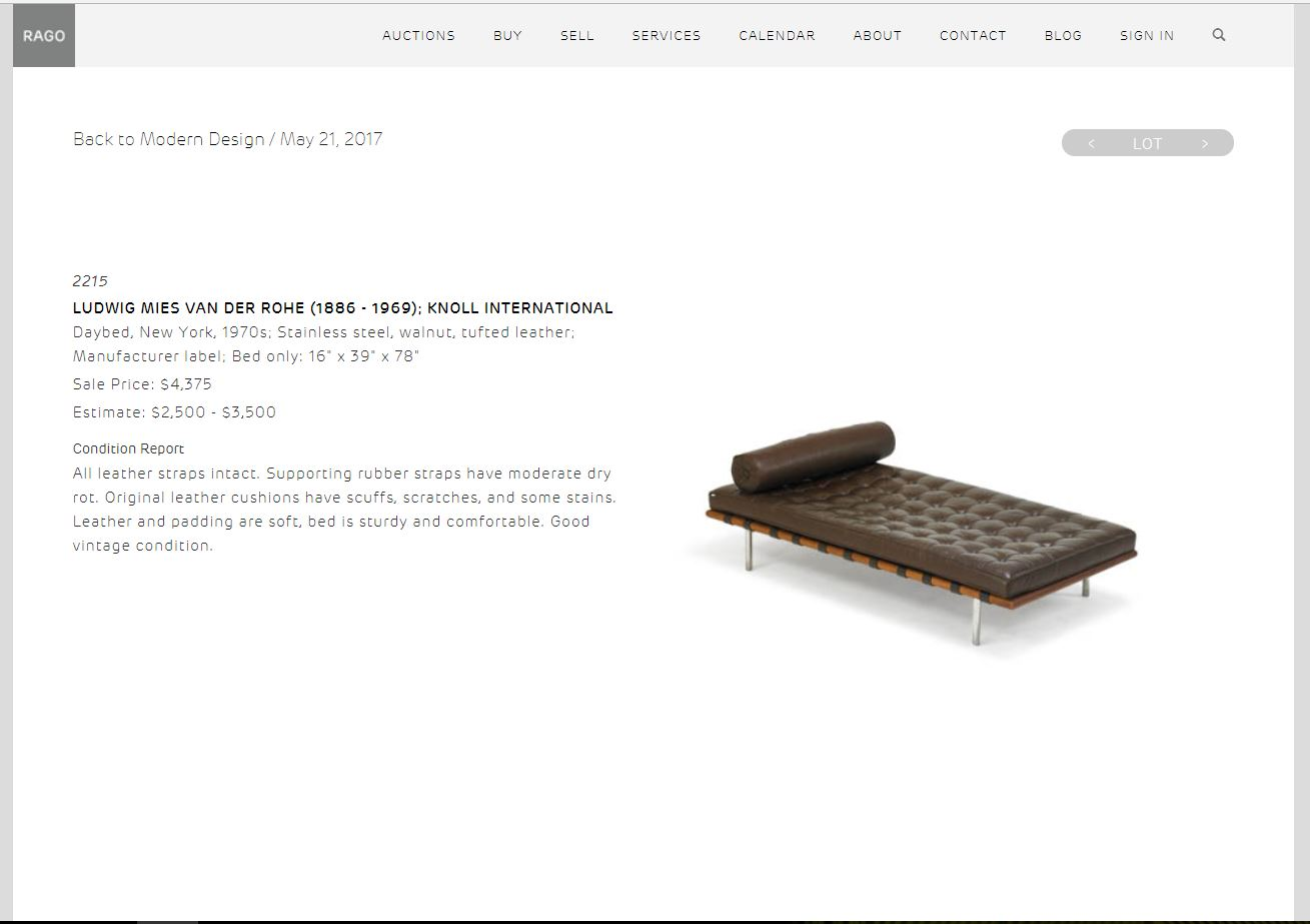 Barcelona Day Bed