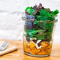 Winter Salad Jar
