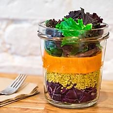 Rainbow Salad Jar