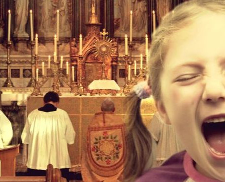 What to do when a child cries in Mass