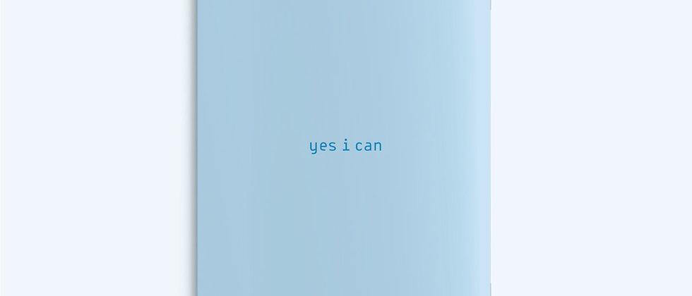 מחברת A5   BLUE YES I CAN