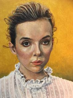 Portrait of Jodie Comer 2019