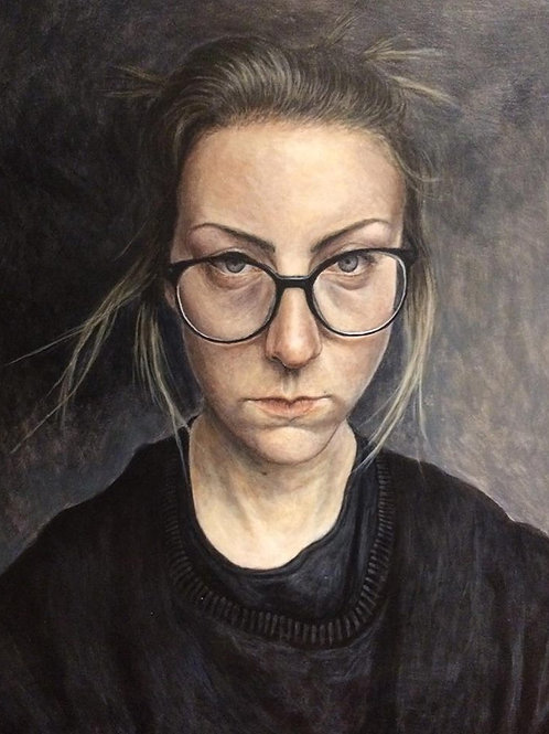 Self Portrait With Glasses 2018