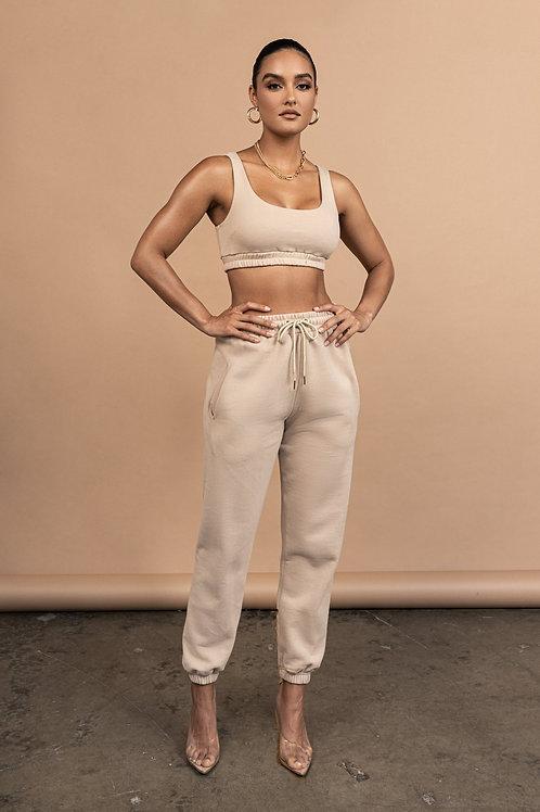 2021 Customize Sweatpants 2 Piece Set Women Tracksuit Joggers Suits