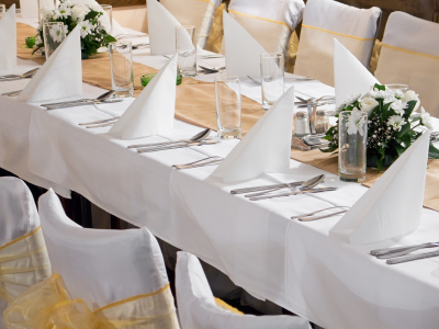 NJ Party Rentals - Table Linens